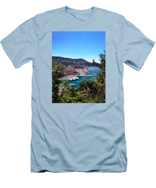 French Port Men's T-Shirt (Slim Fit) by Tiffany Marchbanks
