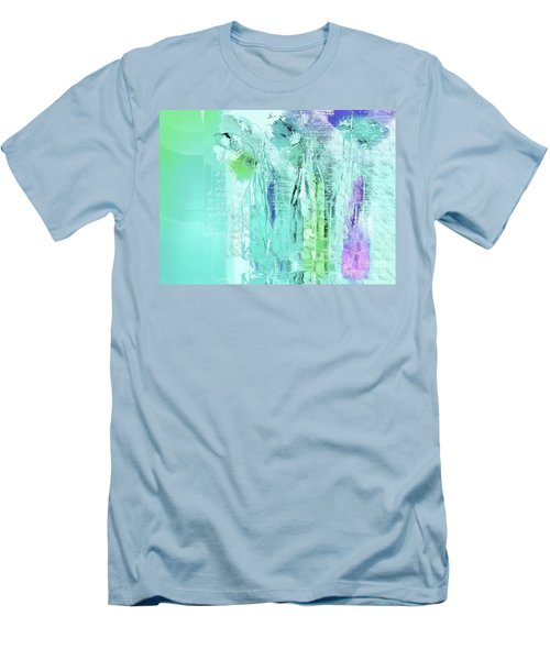 Men's T-Shirt (Slim Fit) featuring the digital art French Still Life - 14b by Variance Collections