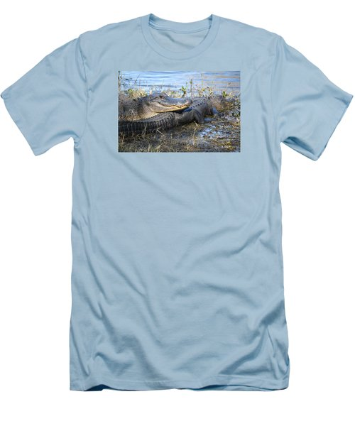 Men's T-Shirt (Slim Fit) featuring the painting Friend, I Got Your Back by Roena King