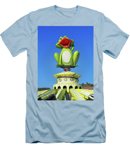 Froggy Men's T-Shirt (Slim Fit) by Don Pedro De Gracia