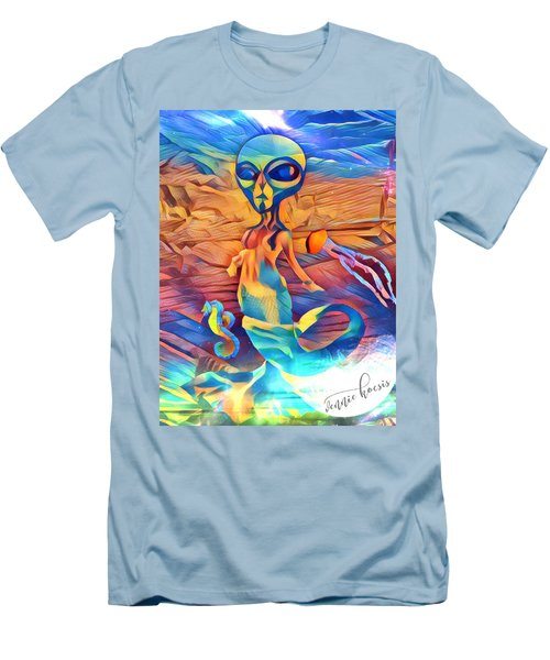 From A World Inside Of Another Men's T-Shirt (Slim Fit) by Vennie Kocsis