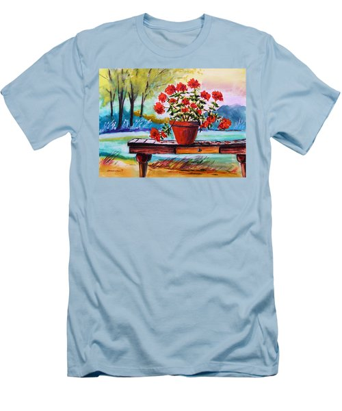 From The Potting Shed Men's T-Shirt (Slim Fit) by John Williams