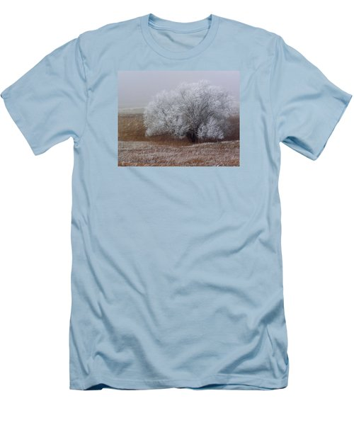 Frost And Fog Men's T-Shirt (Slim Fit) by Alana Thrower