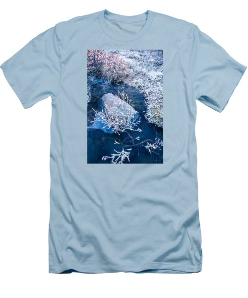 Frosty Pond Men's T-Shirt (Athletic Fit)