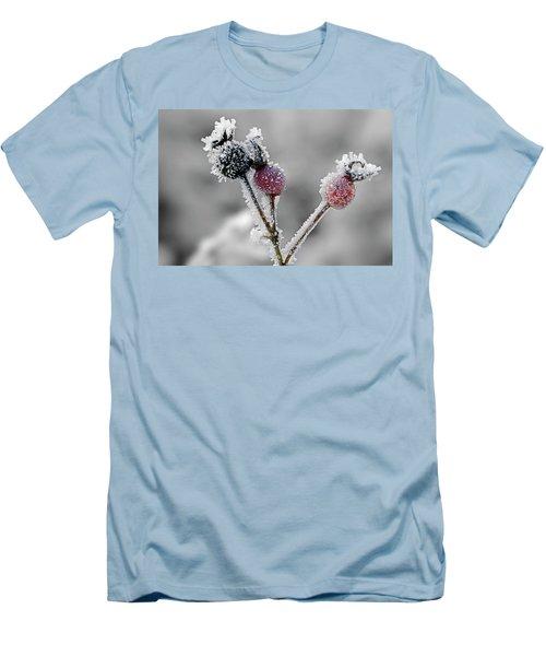 Frozen Buds Men's T-Shirt (Slim Fit)