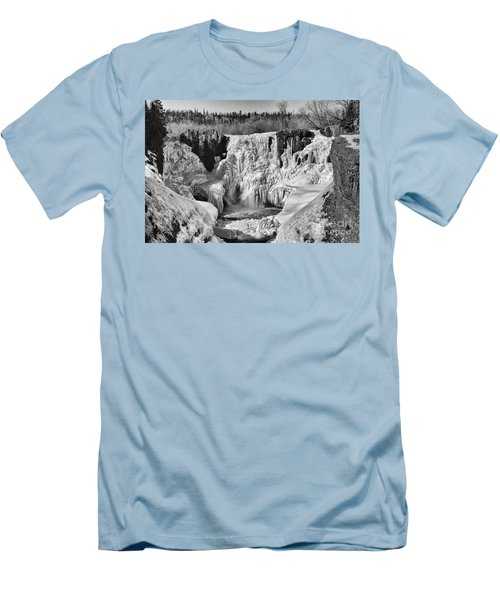 Frozen High Falls Men's T-Shirt (Athletic Fit)