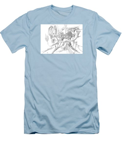 Frozen In Time Men's T-Shirt (Slim Fit) by Charles Cater
