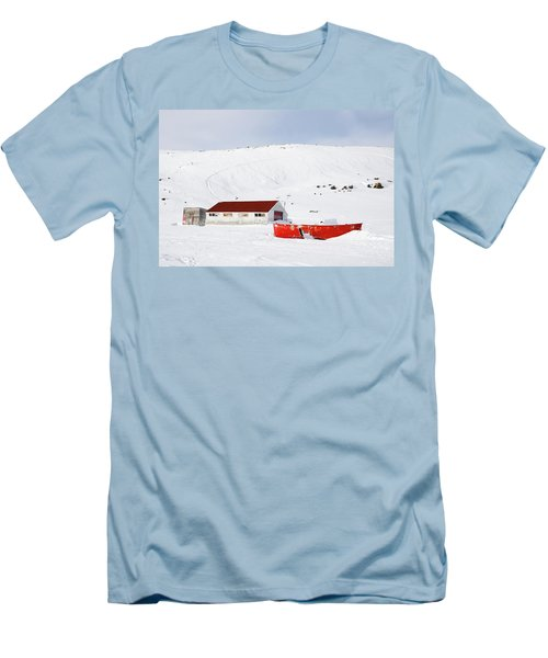 Frozen Life Men's T-Shirt (Slim Fit) by Nick Mares