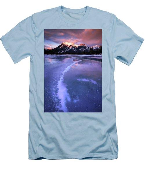 Frozen Sunrise Men's T-Shirt (Athletic Fit)