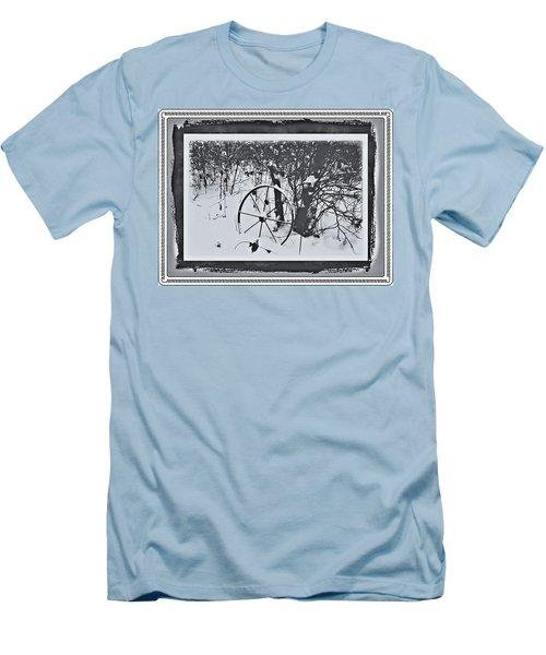 Frozen In Time Men's T-Shirt (Slim Fit) by Cathy Harper