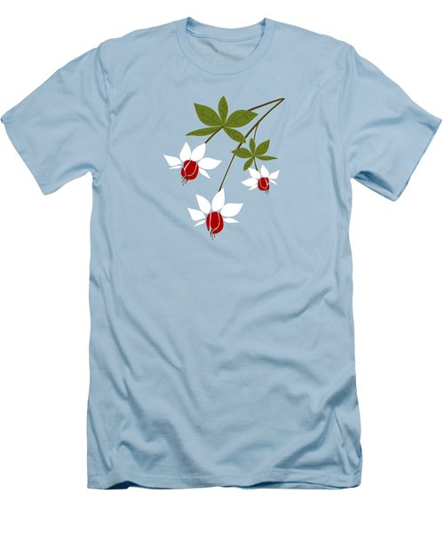 Fuchsia Men's T-Shirt (Athletic Fit)