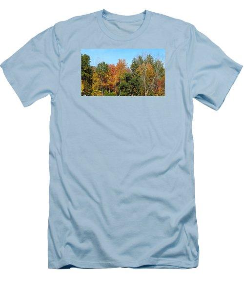 Full Fall Men's T-Shirt (Slim Fit) by Jana E Provenzano
