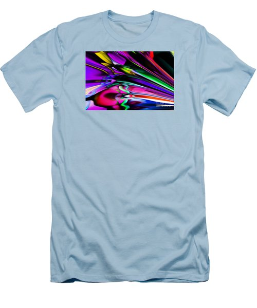 Fun With Colour Men's T-Shirt (Slim Fit) by Elaine Hunter