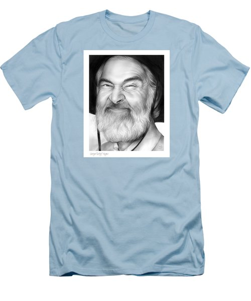 Gabby Hayes Men's T-Shirt (Slim Fit) by Greg Joens