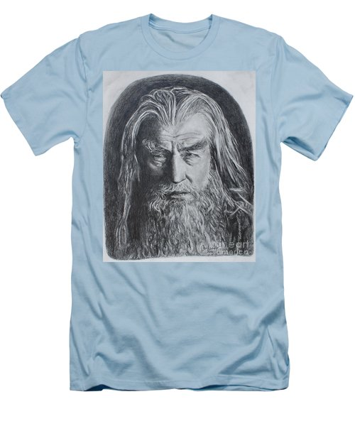 Gandalf The White Men's T-Shirt (Athletic Fit)