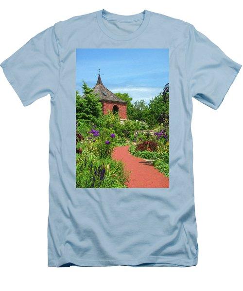 Garden Path Men's T-Shirt (Slim Fit) by Trey Foerster