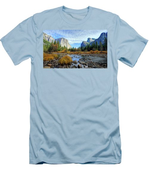 Gates Of The Valley Men's T-Shirt (Athletic Fit)