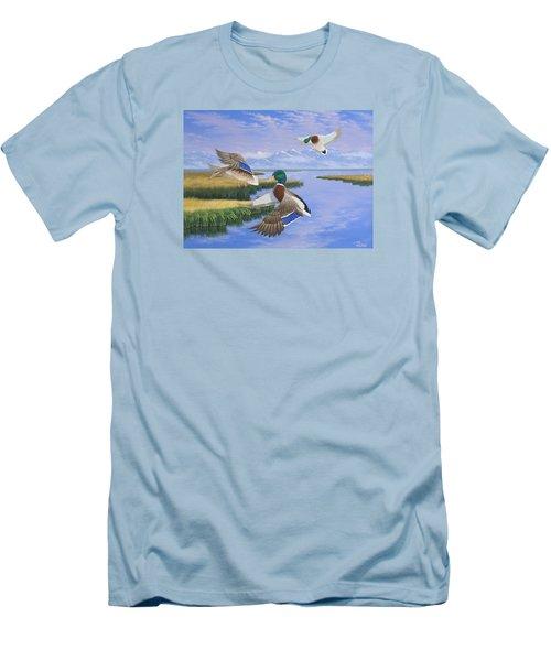 Gentle Landing Men's T-Shirt (Athletic Fit)