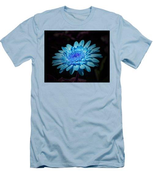 Gerbera Daisy Art Men's T-Shirt (Athletic Fit)