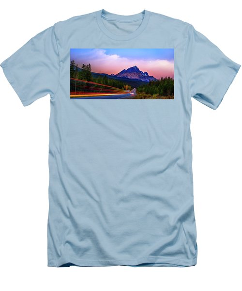 Men's T-Shirt (Slim Fit) featuring the photograph Get Your Motor Running by John Poon