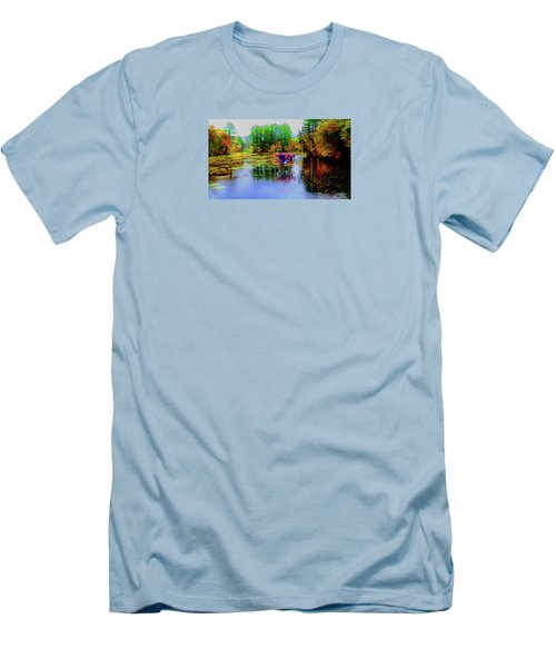 Men's T-Shirt (Slim Fit) featuring the photograph Get Your Own Cream by Mike Breau