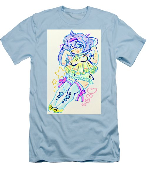 Girl04 Men's T-Shirt (Athletic Fit)