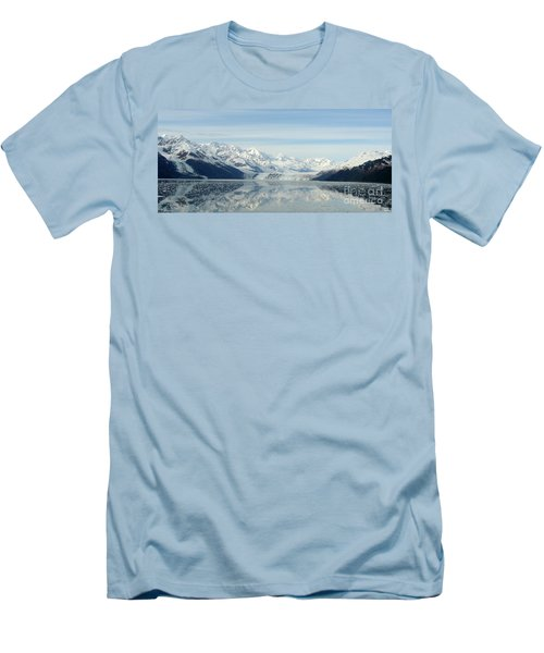 Glacier Bay Reflections Men's T-Shirt (Slim Fit) by Susan Lafleur