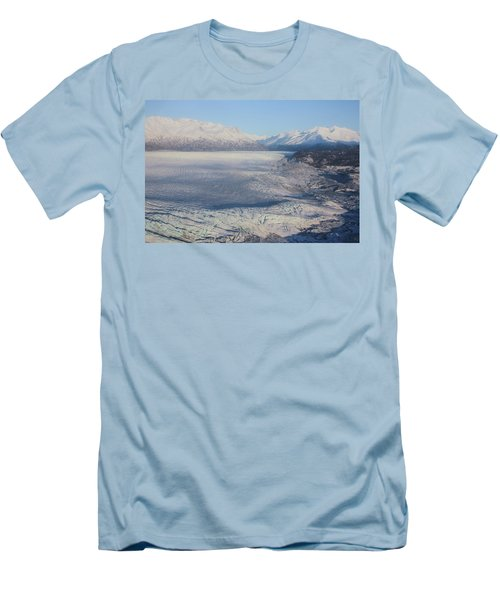 Glacier In Alaska Men's T-Shirt (Athletic Fit)
