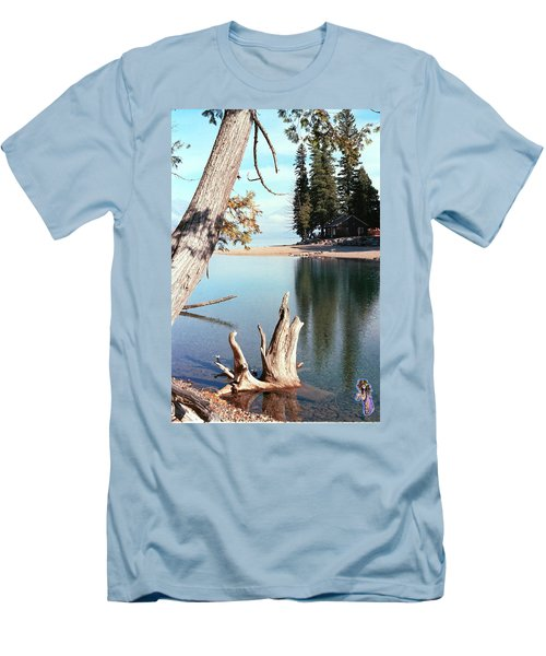 Glacier National Park 4 Men's T-Shirt (Athletic Fit)