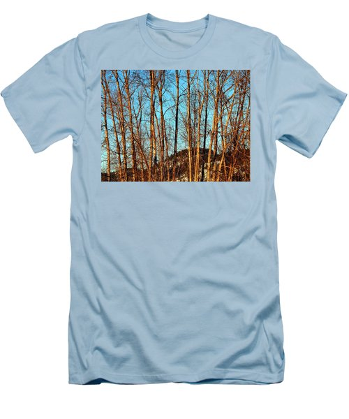 Men's T-Shirt (Slim Fit) featuring the photograph Glow Of The Setting Sun by Will Borden