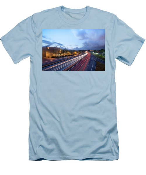 Going Somewere Men's T-Shirt (Athletic Fit)