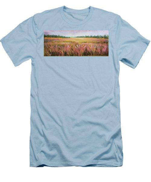Golden Field Men's T-Shirt (Athletic Fit)