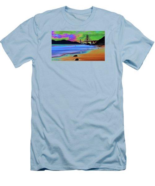 Golden Gate 2 Men's T-Shirt (Athletic Fit)