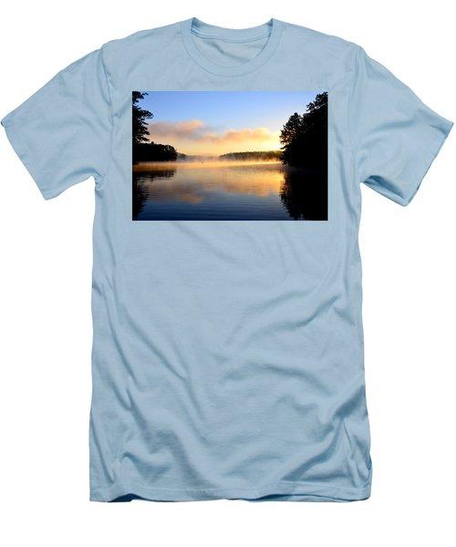 Golden Mist Men's T-Shirt (Athletic Fit)