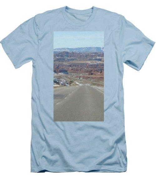 Goodbye Utah Men's T-Shirt (Athletic Fit)