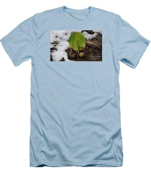 Goodbye Winter Men's T-Shirt (Slim Fit) by Randy Bodkins