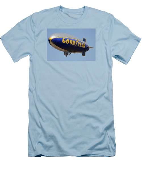 Goodyear Blimp Spirit Of Innovation Goodyear Arizona September 13 2015 Men's T-Shirt (Athletic Fit)