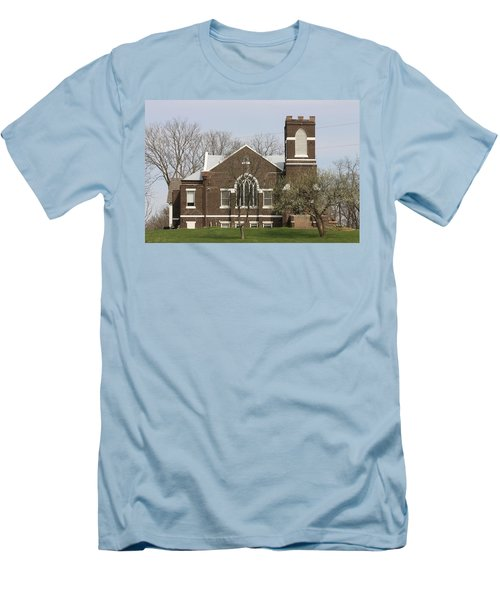 Grace Fellowship A Country Gathering Place Men's T-Shirt (Athletic Fit)