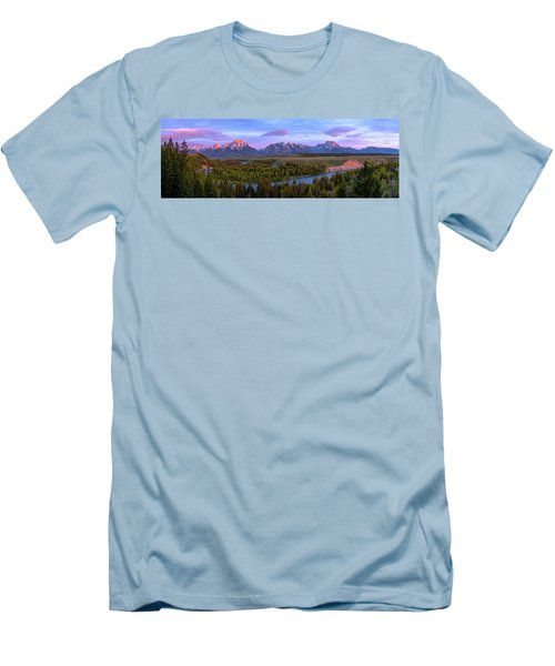 Grand Tetons Men's T-Shirt (Slim Fit) by Chad Dutson