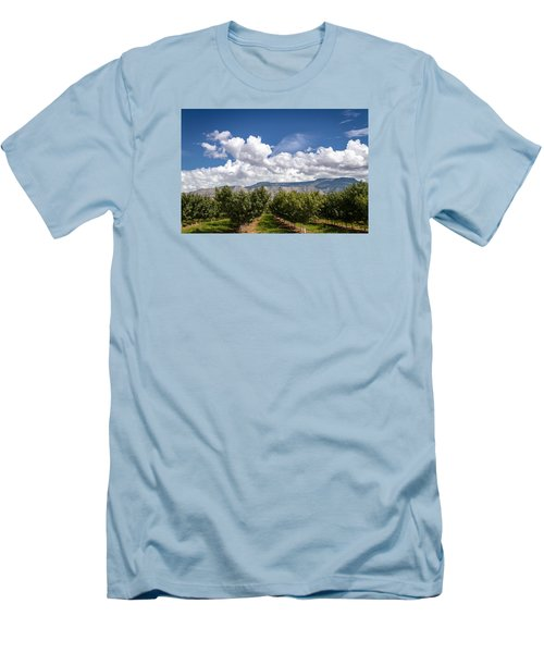 Grand Valley Orchards Men's T-Shirt (Slim Fit) by Teri Virbickis