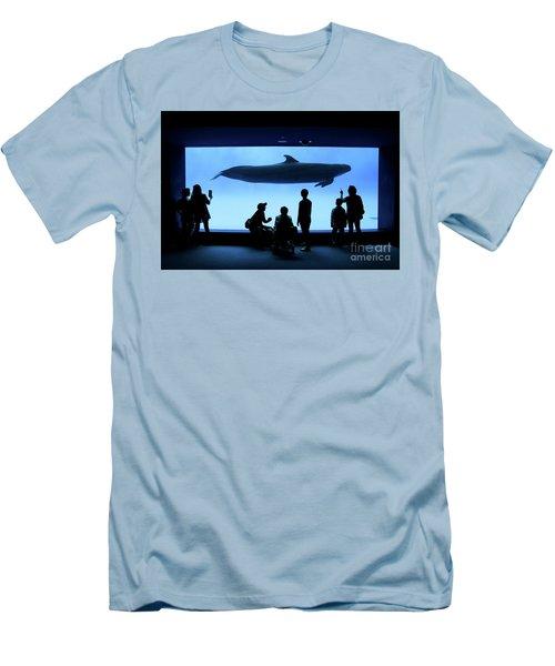 Men's T-Shirt (Slim Fit) featuring the photograph Grand Whale by Tatsuya Atarashi