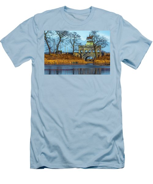 Grant Memorial Lincoln Park Dsc3218 Men's T-Shirt (Athletic Fit)
