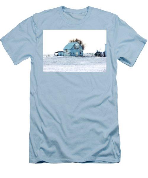 Men's T-Shirt (Slim Fit) featuring the photograph Grays by Julie Hamilton