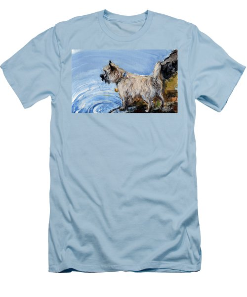 Great Bay Men's T-Shirt (Slim Fit) by Molly Poole