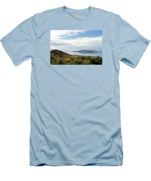 Great Salt Lake Men's T-Shirt (Athletic Fit)