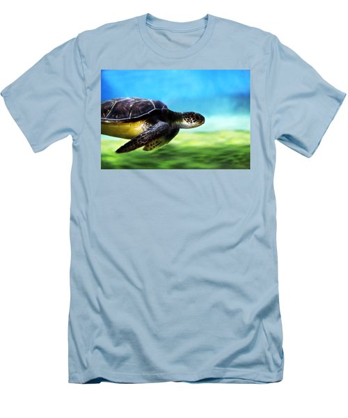 Green Sea Turtle 2 Men's T-Shirt (Athletic Fit)