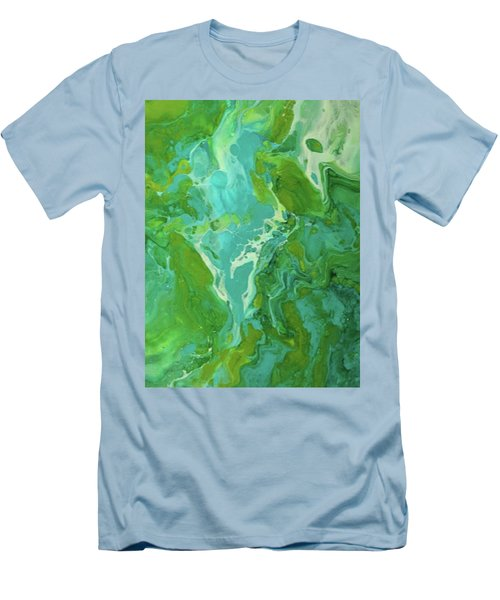 Green Waters Men's T-Shirt (Athletic Fit)