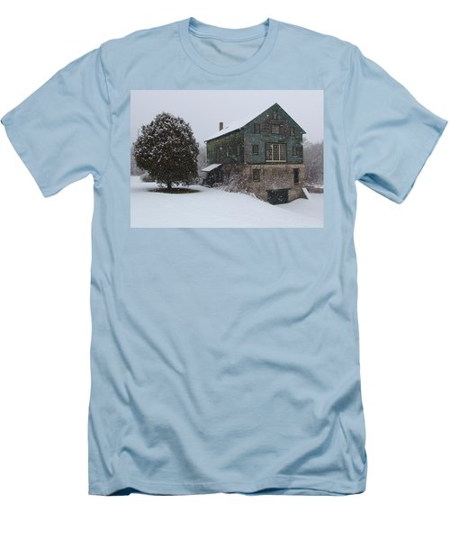 Grist Mill Of Port Hope Men's T-Shirt (Athletic Fit)