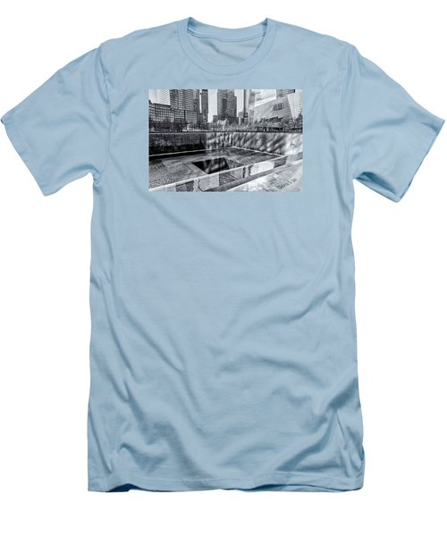 Ground Zero Men's T-Shirt (Slim Fit) by Sabine Edrissi