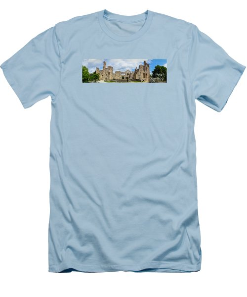 Ha Ha Tonka Castle Panorama Men's T-Shirt (Athletic Fit)